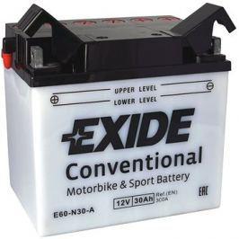 Motobaterie EXIDE BIKE Conventional 30Ah, 12V, Y60-N30-A
