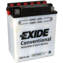 Motobaterie EXIDE BIKE Conventional 14Ah, 12V, YB14-A2