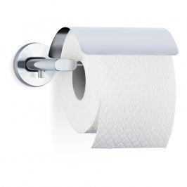 Blomus Držák toaletního papíru s krytem matný nerez AREO