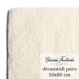 Christian Fischbacher Koupelnový kobereček 50 x 80 cm krémový Dreamtuft Puro, Fischbacher