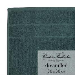 Christian Fischbacher Ručník na ruce/obličej 30 x 30 cm smaragdový Dreamflor®, Fischbacher