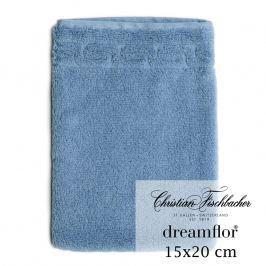 Christian Fischbacher Žínka 15 x 20 cm jeans blue Dreamflor®, Fischbacher