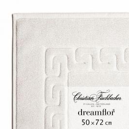 Christian Fischbacher Koupelnová předložka 50 x 72 cm křídová Dreamflor®, Fischbacher