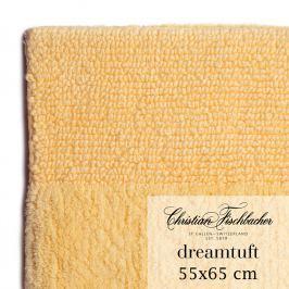 Christian Fischbacher Koupelnový kobereček 55 x 65 cm vanilkový Dreamtuft, Fischbacher