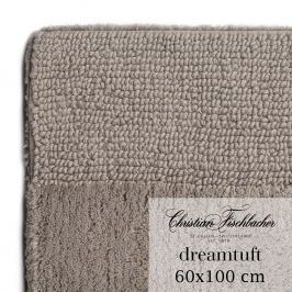 Christian Fischbacher Koupelnový kobereček 60 x 100 cm béžovošedý Dreamtuft, Fischbacher