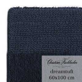 Christian Fischbacher Koupelnový kobereček 60 x 100 cm temně modrý Dreamtuft, Fischbacher