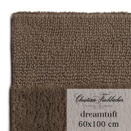 Christian Fischbacher Koupelnový kobereček 60 x 100 cm hnědý Dreamtuft, Fischbacher
