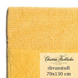 Christian Fischbacher Koupelnový kobereček 70 x 130 cm žlutý Dreamtuft, Fischbacher