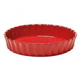 Emile Henry Forma na koláč červená Burgundy Ø 28 cm