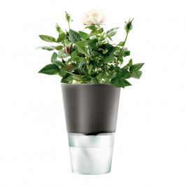Eva Solo Samozavlažovací květináč tmavě šedá Ø 11 cm