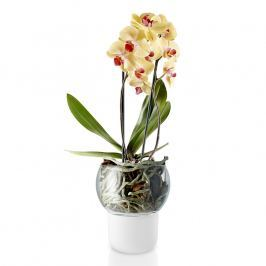 Eva Solo Skleněný samozavlažovací květináč na orchideje Ø 15 cm
