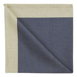 GEORG JENSEN DAMASK Ubrousek blue gold 50 × 50 cm