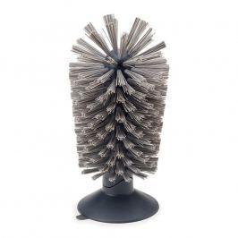 Joseph Joseph Kartáč na nádobí s přísavkou šedý Brush-up™