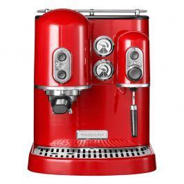 KitchenAid Pákový kávovar na espresso Artisan královská červená