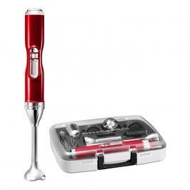 KitchenAid Bezdrátový tyčový mixér Artisan červená metalíza