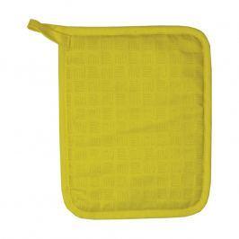 MÜkitchen Kuchyňská chňapka se silikonem MÜincotton® žlutá