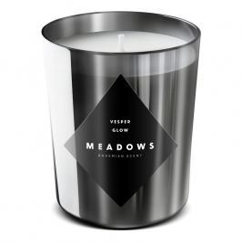 Meadows Vonná svíčka Vesper Glow medium stříbrná