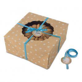 NordicWare Velké papírové krabice na bábovku Kraft Paper Bundt Box 2 kusy, Nordic Ware