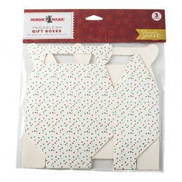 NordicWare Papírové krabičky na cukroví Seasonally Sweet Holiday 3 kusy, Nordic Ware