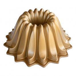 NordicWare Malá forma na bábovku Lotus Bundt® zlatá, Nordic Ware