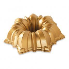 NordicWare Malá forma na bábovku Solera Bundt® zlatá, Nordic Ware