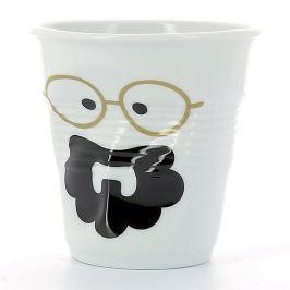 REVOL Kelímek na espresso 8 cl Monsieur Boheme Froissés