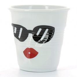 REVOL Kelímek na cappuccino 18 cl Madame Glam Froissés