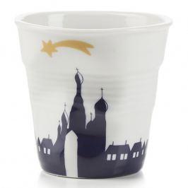 REVOL Kelímek na espresso 8 cl Shadow Moscow Froissés