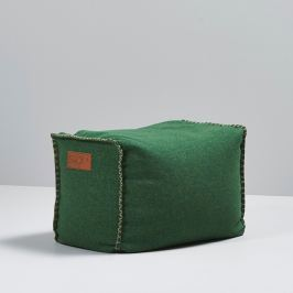 SACKit Hranatý taburet RETROit Cobana zelený