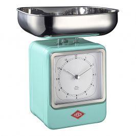 Wesco Kuchyňská váha s hodinami mátová