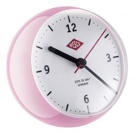 Wesco Stolní hodiny mini růžové