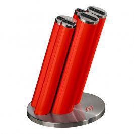 Wesco Blok na nože Pipe červený