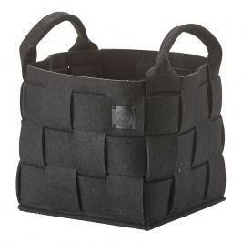 ZONE Úložný košík malý black HIDE
