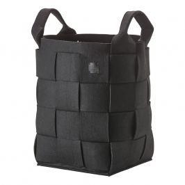 ZONE Úložný košík vysoký black HIDE