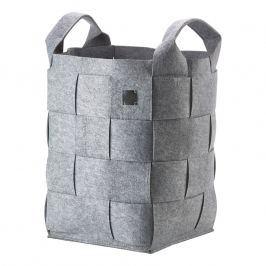 ZONE Úložný košík vysoký grey HIDE