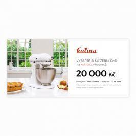 Svatební dárkový certifikát v hodnotě 20000 Kč