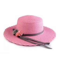Dívčí klobouk / slamák (1 ks)