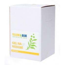 Yellow & Blue Gel na nádobí z mýdlových ořechů 5 l