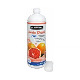 Survival Ionix Drink Fair Power 1000 ml Ionix Drink Fair Power Růžový grep