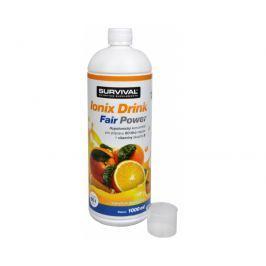 Survival Ionix Drink Fair Power 1000 ml Ionix Drink Fair Power Pomeranč