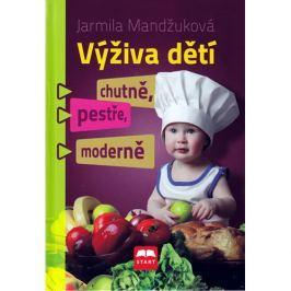 Knihy Výživa dětí chutně, pestře, moderně (Ing. Jarmila Mandžuková)