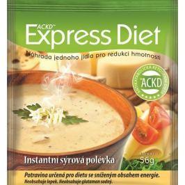 Good Nature Express Diet - instantní polévka Sýrová 56 g