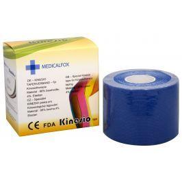 Medicalfox Tejpovací páska Kinezio 5 cm x 5 m Modrá