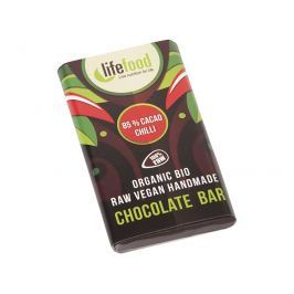 Lifefood Bio Lifefood mini čokoládka s chili 15g