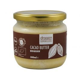 Dragon superfoods Bio Kakaové máslo 300ml RAW