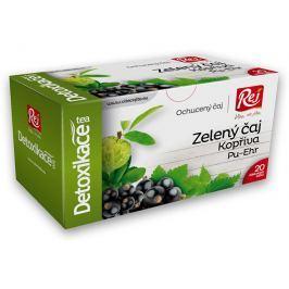 REJ S.R.O. Čaj DETOXIKACE - zelený čaj s kopřivou a pu-erh 30g