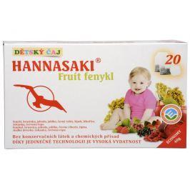 Phoenix Division Dětský čaj Hannasaki Fruit fenykl 20 sáčků