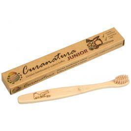 Dětský bambusový zubní kartáček Junior Curanatura ultra soft