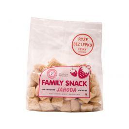 Family snack Jahoda s jogurtem 165g