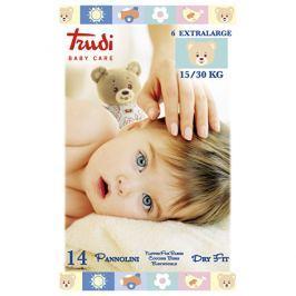 Trudi Dětské pleny Dry Fit s vrstvou Perfo-Soft velikost XL 15-30 kg 14 ks